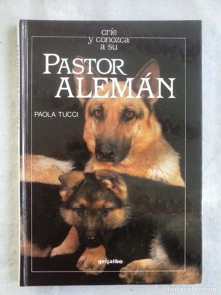 LIBRO PASTOR ALEMÁN. PAOLA TUCCI - GRIJALBO 1989. (Libros de Segunda Mano - Ciencias, Manuales y Oficios - Otros)