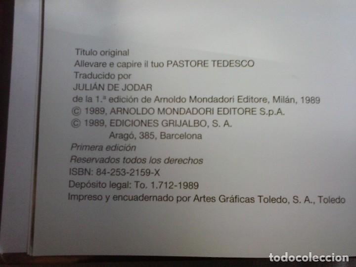 Libros de segunda mano: Libro Pastor Alemán. Paola Tucci - Grijalbo 1989. - Foto 5 - 80018153