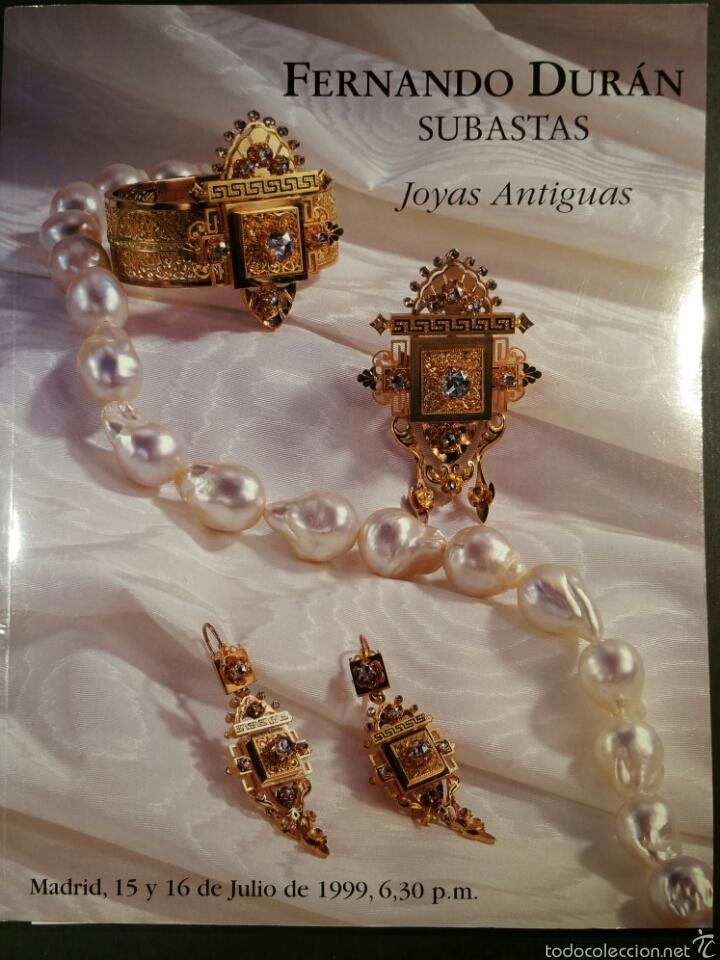 Fernando dur n cat logo joyas antiguas julio 19 comprar en todocoleccion 80047766 - Libreria segunda mano online ...