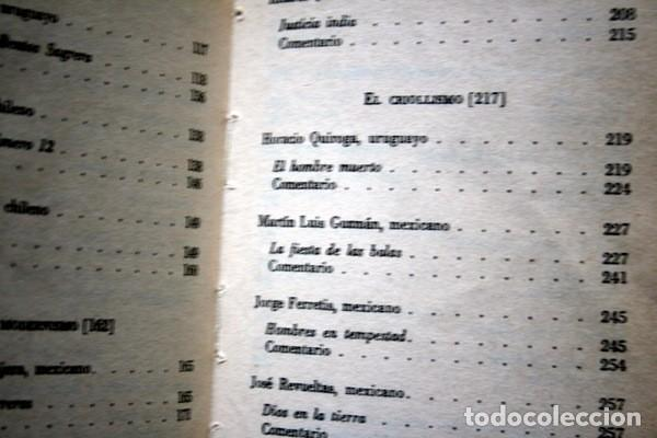 Libros de segunda mano: EL CUENTO HISPANOAMERICANO - Antología Crítico - Histórica - SEYMOUR MENTON - FCE - Foto 3 - 80064221