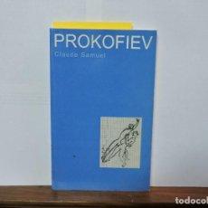 Libros de segunda mano: PROKOFIEV. SAMUEL, CLAUDE. ED. MARION BOYARS. GRAN BRETAÑA 2000. Lote 80069565