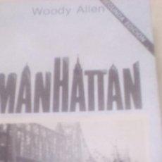 Libros de segunda mano: MANHATTAN (WOODY ALLEN) CUADERNOS ÍNFIMOS 95 TUSQUETS. Lote 80074501
