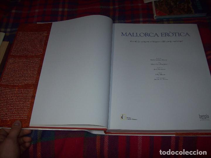 Libros de segunda mano: MALLORCA ERÒTICA .RECULL DE CANÇONS ERÒTIQUES I DEL CAMP MALLORQUÍ.JOAN BENNÀSSAR.2007. ÚNICO EN TC! - Foto 3 - 160964172