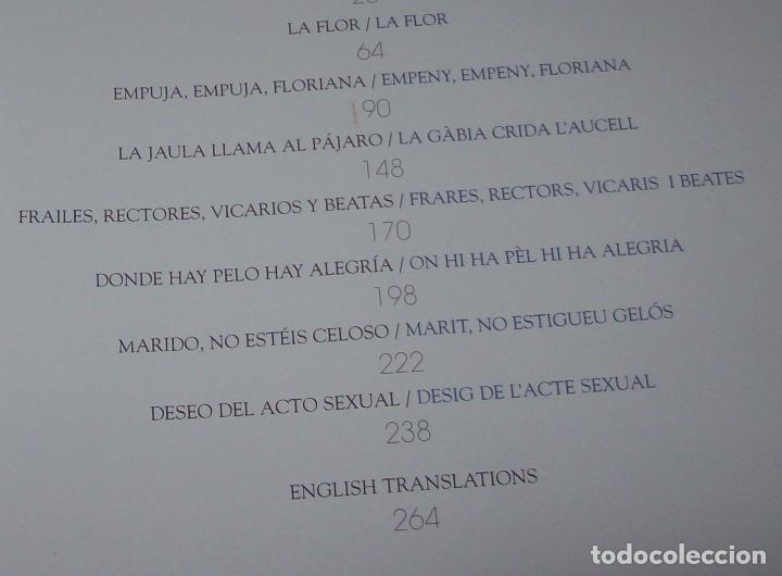 Libros de segunda mano: MALLORCA ERÒTICA .RECULL DE CANÇONS ERÒTIQUES I DEL CAMP MALLORQUÍ.JOAN BENNÀSSAR.2007. ÚNICO EN TC! - Foto 6 - 160964172