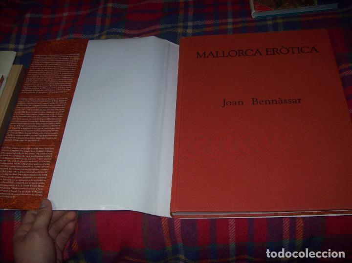 Libros de segunda mano: MALLORCA ERÒTICA .RECULL DE CANÇONS ERÒTIQUES I DEL CAMP MALLORQUÍ.JOAN BENNÀSSAR.2007. ÚNICO EN TC! - Foto 38 - 160964172