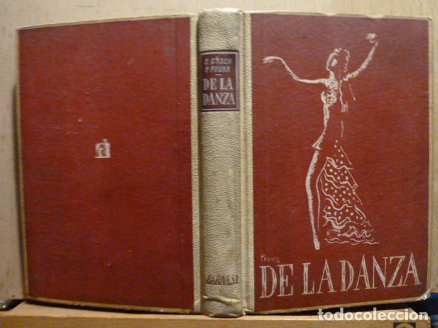 Libros de segunda mano: DE LA DANZA -SEBASTIAN GASCH- PEDRO PRUNA-1946- - Foto 2 - 80115897