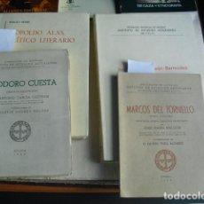 Libros de segunda mano: LOTE DE CINCO LIBROS DE TEMA ASTURIANO. Lote 194953407