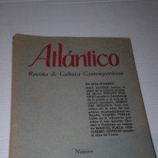 Libros de segunda mano: ATLANTICO REVISTA DE CULTURA CONTEMPORANEA Nº 17 - AÑO 1961 - VER FOTOS DETALLES. Lote 80197357