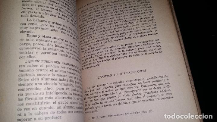 Libros de segunda mano: tratado de radiestesia fisica / jean charloteaux - Foto 3 - 80222365
