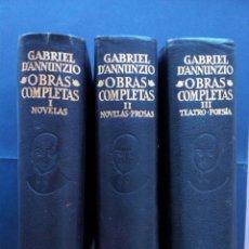 Libros de segunda mano: ETERNAS, D'ANNUNZIO, AGUILAR. Lote 80395357