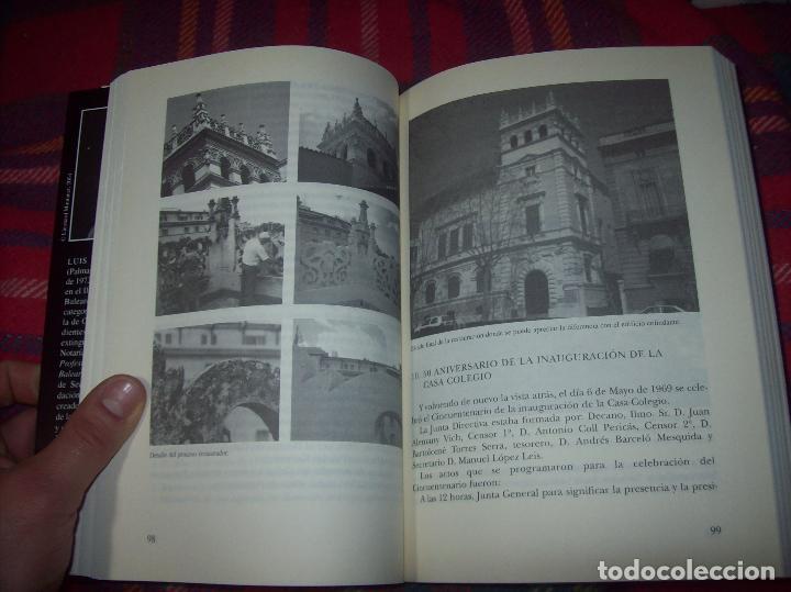 EL COL·LEGI NOTARIAL DE LES ILLES BALEARS. UN SEGLE D'HISTÒRIA SOCIAL I ECONÒMICA...2004. (Libros de Segunda Mano - Historia - Otros)