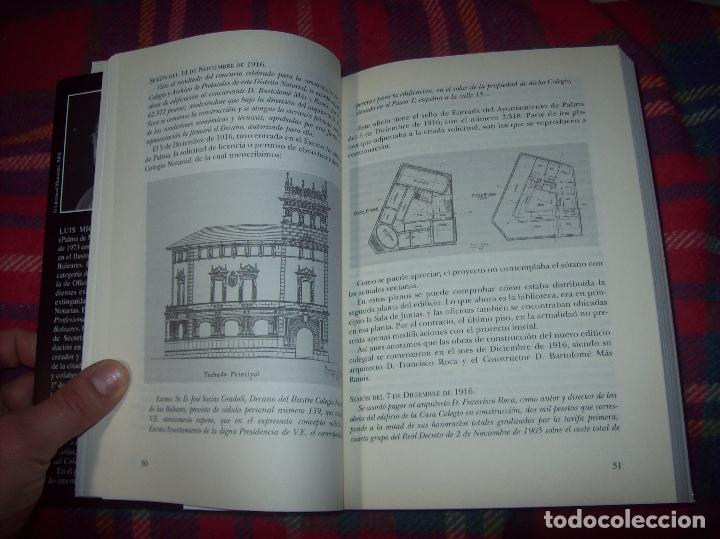 Libros de segunda mano: EL COL·LEGI NOTARIAL DE LES ILLES BALEARS. UN SEGLE DHISTÒRIA SOCIAL I ECONÒMICA...2004. - Foto 4 - 103017199