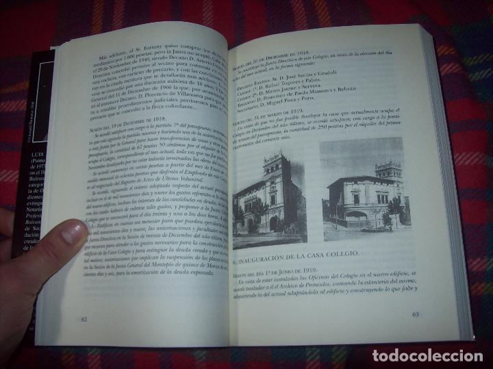 Libros de segunda mano: EL COL·LEGI NOTARIAL DE LES ILLES BALEARS. UN SEGLE DHISTÒRIA SOCIAL I ECONÒMICA...2004. - Foto 5 - 103017199