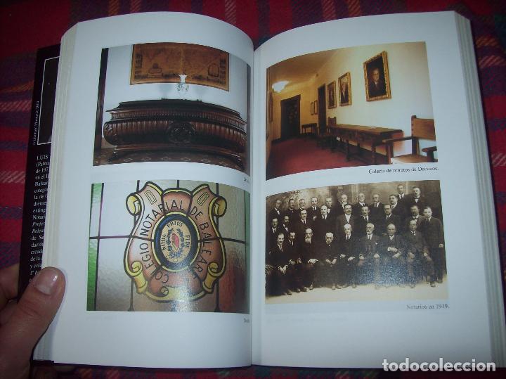 Libros de segunda mano: EL COL·LEGI NOTARIAL DE LES ILLES BALEARS. UN SEGLE DHISTÒRIA SOCIAL I ECONÒMICA...2004. - Foto 11 - 103017199