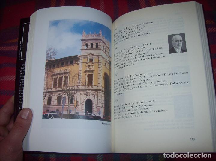 Libros de segunda mano: EL COL·LEGI NOTARIAL DE LES ILLES BALEARS. UN SEGLE DHISTÒRIA SOCIAL I ECONÒMICA...2004. - Foto 12 - 103017199