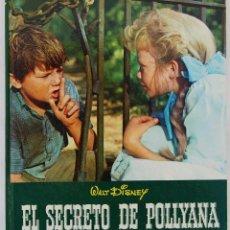 Libros de segunda mano: EL SECRETO DE POLLYANA - WALT DISNEY. Lote 80514809