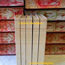 Libros de segunda mano: LIBRE DE FEYTS D'ARMES DE CATALUNYA . 5 VOLUMS . AUTOR : BOADES, BERNAT . Lote 80622602