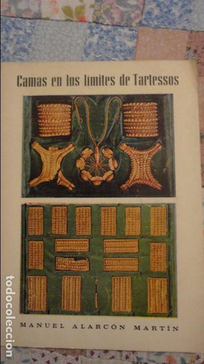 MANUEL ALARCON MARTIN.CAMAS EN LOS LIMITES DE TARTESOS.AYUNTAMIENTO CAMAS.SEVILLA.1971 (Libros de Segunda Mano - Historia - Otros)