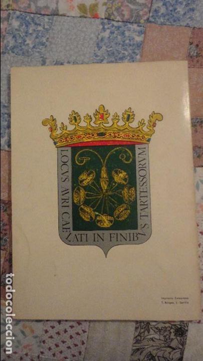 Libros de segunda mano: MANUEL ALARCON MARTIN.CAMAS EN LOS LIMITES DE TARTESOS.AYUNTAMIENTO CAMAS.SEVILLA.1971 - Foto 14 - 80669014
