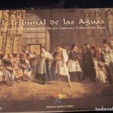 Libros de segunda mano: EL TRIBUNAL DE LAS AGUAS EDICIÓN EN CASTELLANO, VALENCIANO, INGLÉS Y FRANCÉS AÑO 1997. Lote 80762050