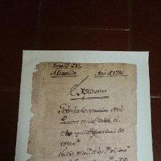 Libros de segunda mano: FACSÍMIL SOBRE LA CONSTRUCCIÓN DEL PUENTE MAYOR DE MIRANDA. Lote 80941496