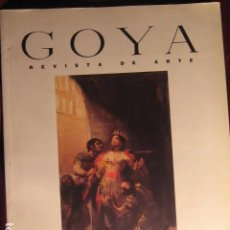 Libros de segunda mano: REVISTA DE ARTE GOYA Nº 252 1996. Lote 81019092