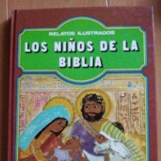 Libros de segunda mano: RELATOS ILUSTRADOS - LOS NIÑOS DE LA BIBLIA -EVEREST. Lote 81022172