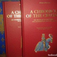 Libros de segunda mano: A CHRONICLE OF THE CRUSADES. TASCHEN. Lote 81085892