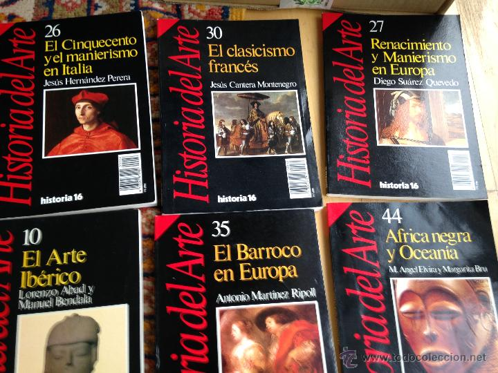 Libros de segunda mano: lote de 18 números de historia del arte. grupo historia 16. Muy buen estado - Foto 2 - 98828191