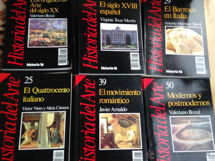 Libros de segunda mano: lote de 18 números de historia del arte. grupo historia 16. Muy buen estado - Foto 4 - 98828191