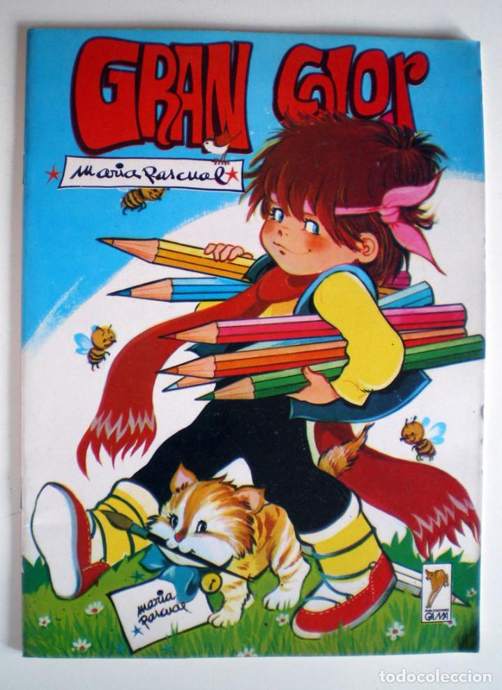 GRAN COLOR DIBUJOS MARÍA PASCUAL GAMA 1985 PARA COLOREAR PINTAR Y DIBUJAR NUEVO (Libros de Segunda Mano - Literatura Infantil y Juvenil - Otros)