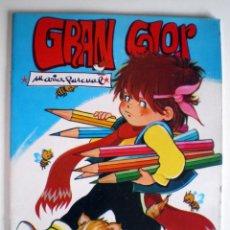Libros de segunda mano: GRAN COLOR DIBUJOS MARÍA PASCUAL GAMA 1985 PARA COLOREAR PINTAR Y DIBUJAR NUEVO. Lote 81173920