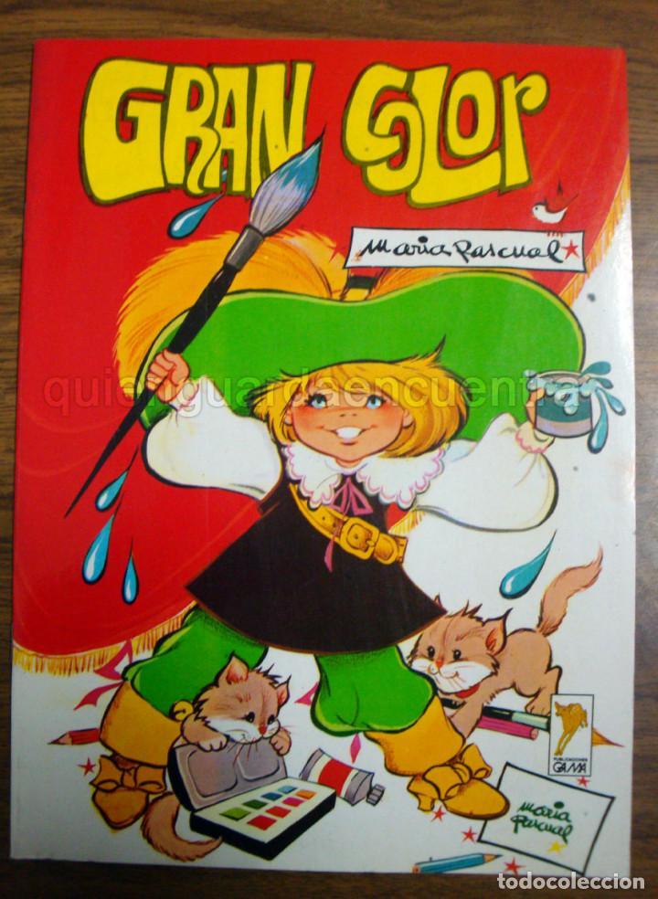 Dibujos María Pascual Lote 3 Unidades Gama 1985 Para Colorear Pintar Y Dibujar Nuevos