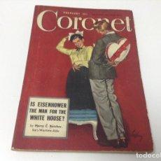 Libros de segunda mano: CORONET FEBRUARY 1948 . REVISTA USA EN INGLES. Lote 194238205