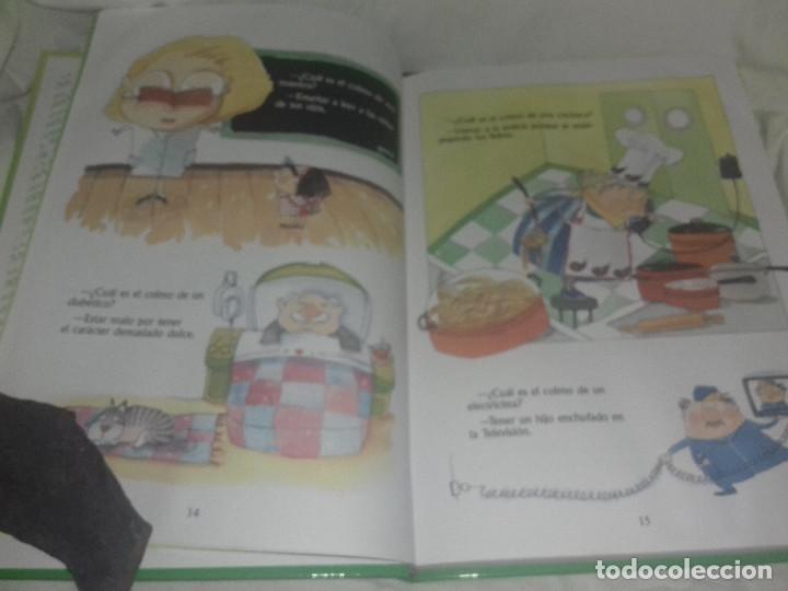 Libros de segunda mano: RIE QUE RIE EXAGERACIONES CHISTES COLMOS TRABALENGUAS ILUST Mª LUISA TORCIDA EDI SUSAETA - Foto 2 - 81239068