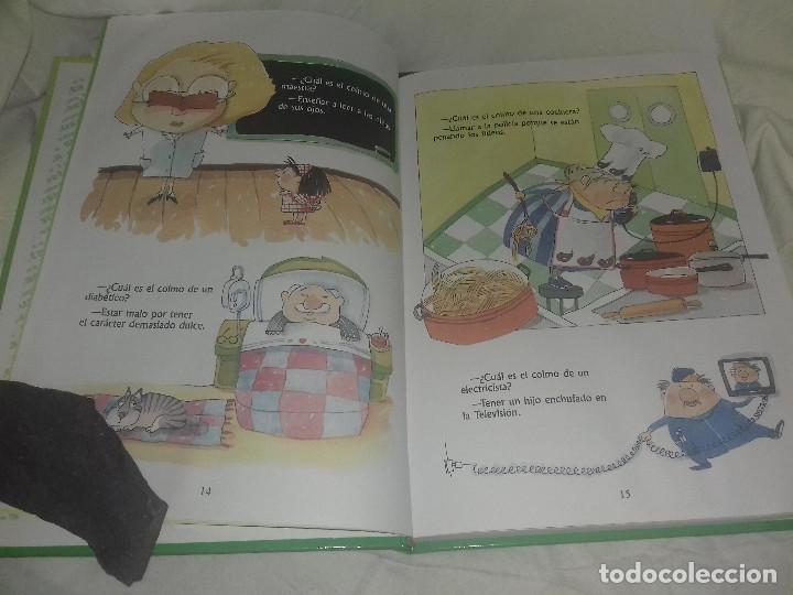 Libros de segunda mano: RIE QUE RIE EXAGERACIONES CHISTES COLMOS TRABALENGUAS ILUST Mª LUISA TORCIDA EDI SUSAETA - Foto 3 - 81239068