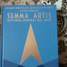 Libros de segunda mano: SUMMA ARTIS XLIII: ARTE AFRICANO. POR ESTRENAR. ESPASA CALPE, 1998.. Lote 81376204