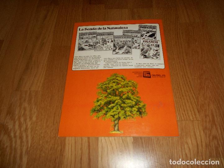 Libros de segunda mano: LA SENDA DE LA NATURALEZA ÁRBOLES Y HOJAS EDICIONES PLESA SM 1979 - Foto 5 - 81582148
