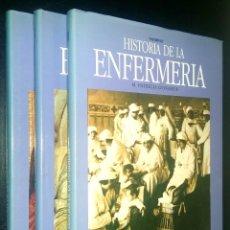 Libros de segunda mano: HISTORIA DE LA ENFERMERIA / VOLUMEN I, II Y III / PATRICIA DONAHUE. Lote 81603740
