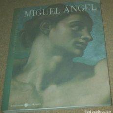 Libros de segunda mano: MIGUEL ANGEL - LOS GRANDES GENIOS DEL ARTE- EL MUNDO 2004 - 187 PG. 17 X 21 IMPECABLE SIN USO. Lote 81654000