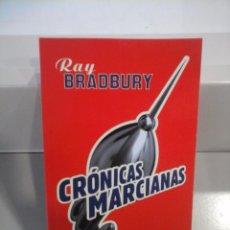 Libros de segunda mano: CRÓNICAS MARCIANAS. RAY BRADBURY. Lote 81675828