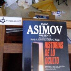 Libros de segunda mano: HISTORIA DE LO OCULTO - ISAAC ASIMOV. Lote 81702148