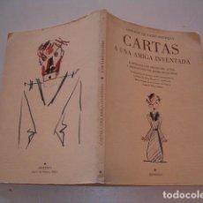 Libros de segunda mano: ANTOINE DE SAINT-EXUPÉRY. CARTAS A UNA AMIGA INVENTADA. RM79669. . Lote 81764532