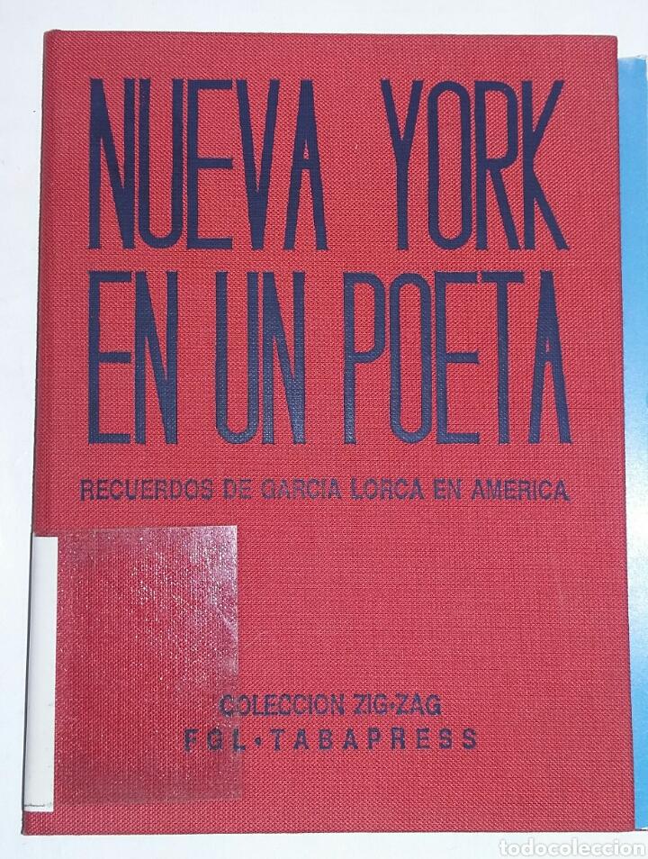 NUEVA YORK EN UN POETA. RECUERDOS DE GARCIA LORCA EN AMERICA. - TDK213 (Libros de Segunda Mano - Pensamiento - Otros)