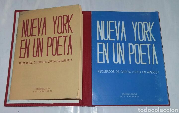 Libros de segunda mano: NUEVA YORK EN UN POETA. RECUERDOS DE GARCIA LORCA EN AMERICA. - tdk213 - Foto 2 - 81864344