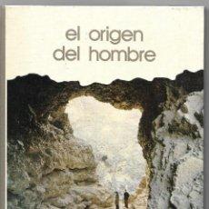 Libros de segunda mano: EL ORIGEN DEL HOMBRE - BIBLIOTECA SALVAT - GRANDES TEMAS - SALVAT EDITORES 1973. Lote 81867300
