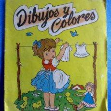 Libros de segunda mano: CUADERNO PARA PINTAR. DIBUJOS Y COLORES. Nº 352. EDITORIAL VASCO AMERICANA, 1963.. Lote 81909432