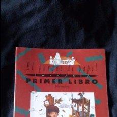 Libros de segunda mano: EL PARQUE DE PAPEL, PILAR MOLINA PRIMER LIBRO, PRIMARIA, SM 1984. Lote 180084468