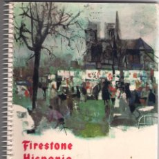 Libros de segunda mano: AGENDA FIRESTONE HISPANIA 1963 MADRID –VALLADOLID. Lote 81951580