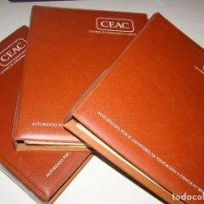 Libros de segunda mano: CURSO DE CORTE Y CONFECCIÓN - CEAC. Lote 81958032